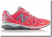 New Balance Pink and Silver Running Shoe