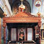 Рака с мощами преподобного Кукши в Одесском Свято-Успенском монастыре