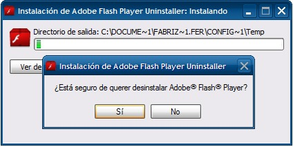 Uninstall Flash Player