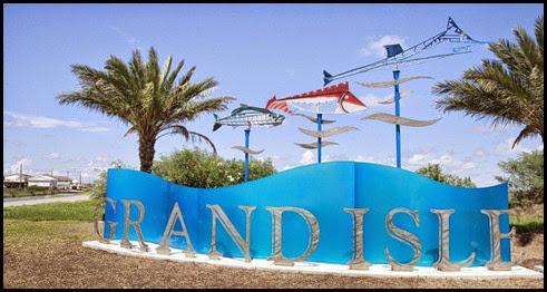 grand isle sign