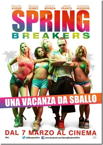 Spring Breakers – Fuoco e Fiamme