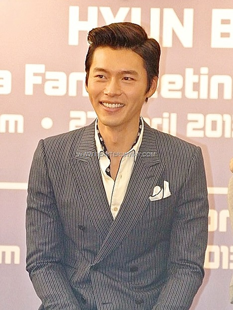 HYUN BIN  Singapore Secret Garden Ha LI Won My lovely My Name is Kim Sam Soon Asia Tour  China Korean  drama Stars Hallyu actor Shanghai Hong Kong Bangkok Taipei Fans Meet 2013 Samsung Smart Tv Girls Generation Lotte World
