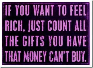 rich gifts