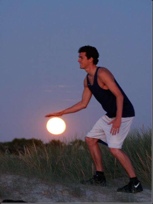 baschet cu luna