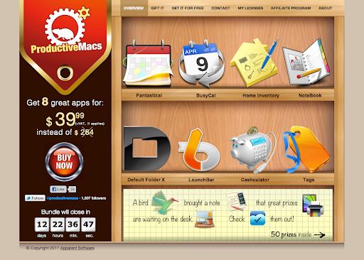 Productive Macs software bundle