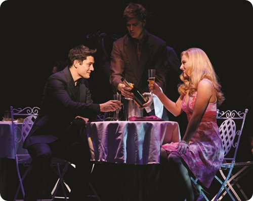 Rob Mills as Warner and Lucy Durack as Elle in LEGALLY BLONDE (c) Jeff Busby