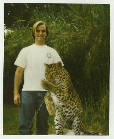 sean with cheetah 2