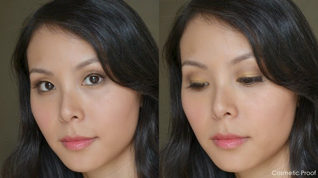 The Body Shop Color Crush Eye Shadow Makeup Look