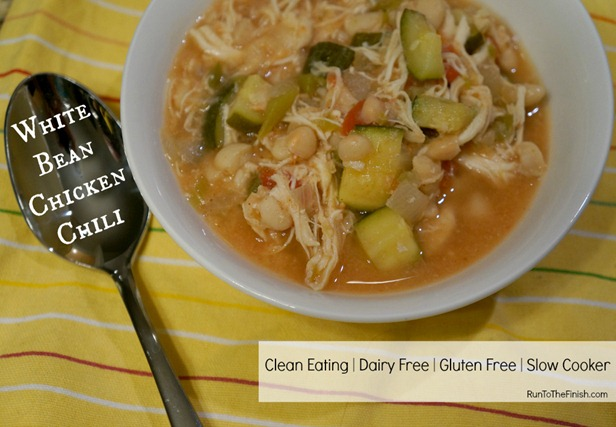 Clean Eating White Bean Chicken Chili