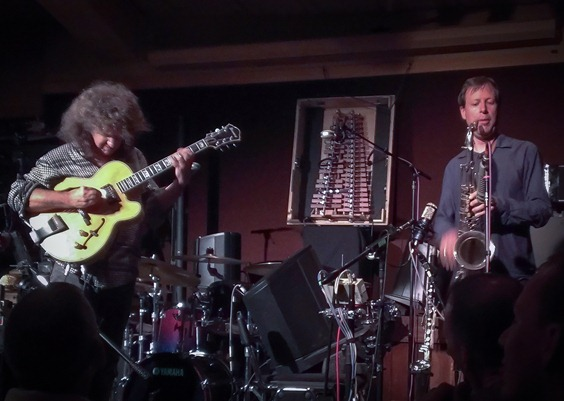Pat Metheny and Chris Potter of the Pat Metheny Unity Band Rams Head 2012-08-01