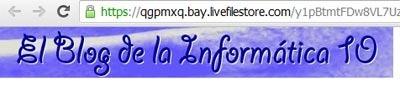 URL de imagen alojada en Skydrive