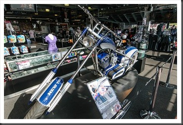 Orange County Choppers Yankees Bike