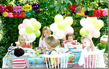 Decoracin de Jardines para Fiesta Infantil3