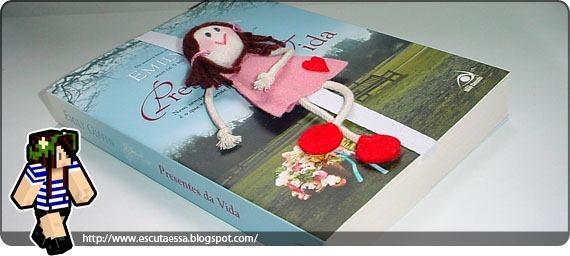 Marcador boneca - Blog Escuta Essa