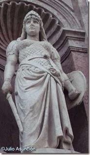 Monumento a Antonio Oquendo - La Guerra - San Sebastián