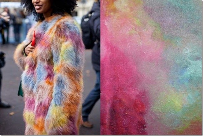 Julia-Sarr-Jamois-street-style-at-Paris-Fashion-Week-Spring-2013-Painting-by-EASTWOODART-640x428