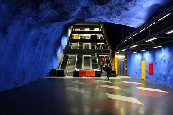 مترو ستوكهولم السويدي