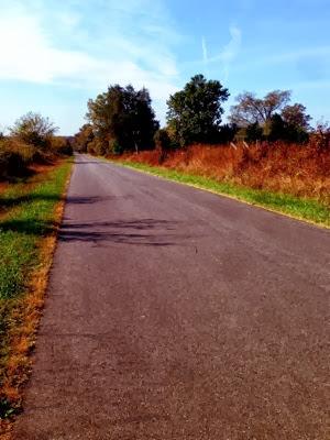 the road, run