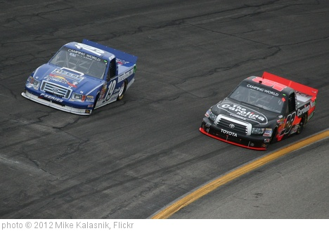 'Joey Logano & Johnny Sauter' photo (c) 2012, Mike Kalasnik - license: http://creativecommons.org/licenses/by-sa/2.0/