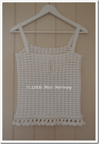 WHITE CROCHET CAMI6