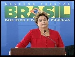 Presidente Dilma Rosuseff