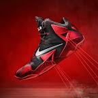 nike lebron 11 gr black red 6 17 nike inc New Photos // Nike LeBron XI Miami Heat (616175 001)