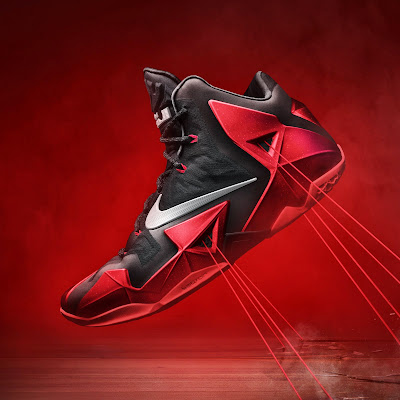 nike lebron 11 gr black red 6 17 nike inc Nike Introduces LEBRON 11 & Revolutionary Hyperposite Technology
