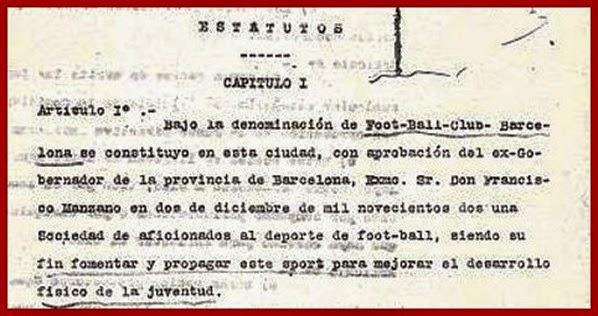 Barcelona_1911_Estatutos_Artículo1