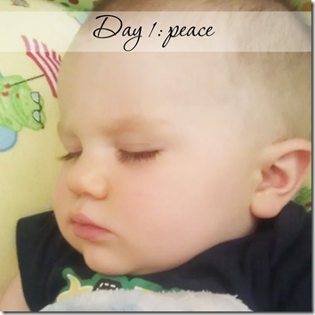 Day 1 peace