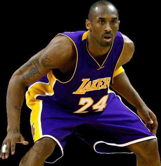 Коби Брайант - легкий форвард, нападающий в баскетболе