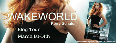 {Interview+Giveaway} Wakeworld by Kerry Schafer