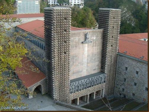 Fachada del Santuario de Aranzazu - Oñate - Gipuzkoa