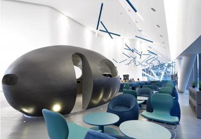 coffee cafe interior design futuristic