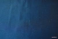 """Tkanina ognioodporna typu """"tafta"""". Na zasłony, poduszki, narzuty, dekoracje. Niebieska, granatowa."""