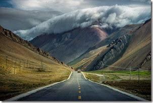 Tibet-road