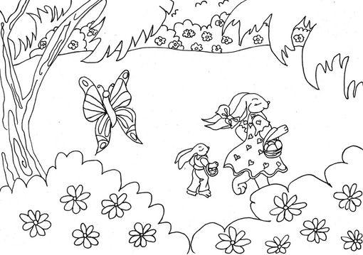 Dibujo Paisajes Para Ninos Imagui