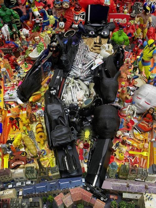 bernard pras arte lixo 01