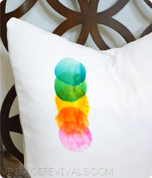 Ink Effects Pillow