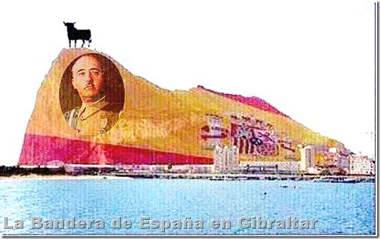 La Bandera de España en Gibraltar