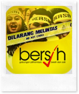 bersih-signpost