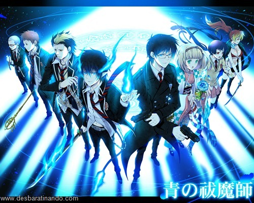 Ao no exorcist  anime wallpapers papeis de parede download desbaratinando   (17)