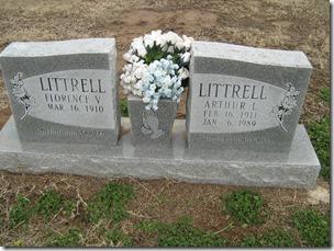 Arthur L n Florence Littrell