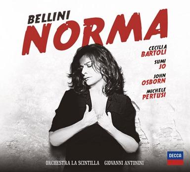 Vincenzo Bellini: NORMA (Bartoli, Jo, Osborn, Pertusi; DECCA 478 3517)