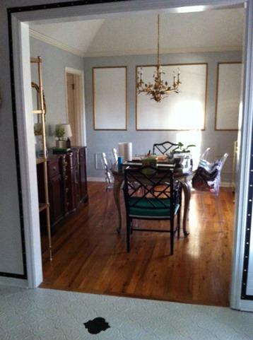 dining room progress 2