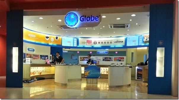 Globe Telecom concept store in Ayala Cebu