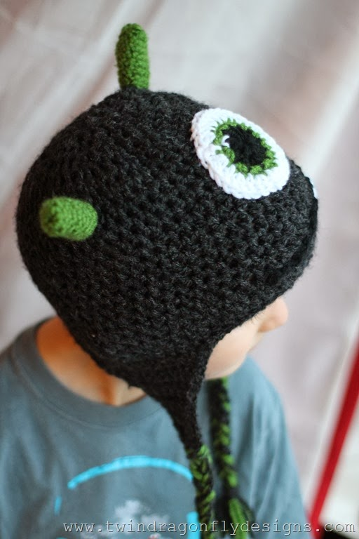 Crochet Monster Hat (35)