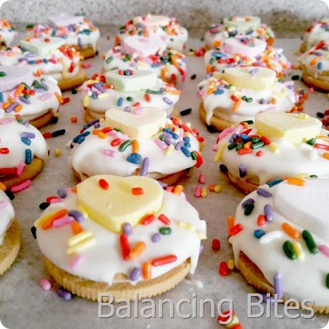Valentine Semi-Homemade Cookies - Balancing Bites