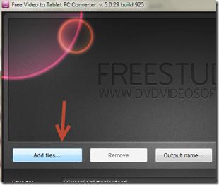 การแปลงวีดีโอให้สามารถช้ได้กับ tablet