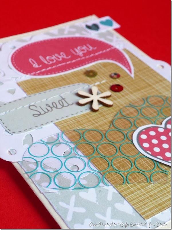 Anna Draicchio cafe creativo - sizzix big shot - valentiner card - paper free 2