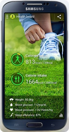 Samsung Galaxy S4 S Health